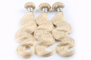 Dazzling Dolls Hair Collection Blonde-Wavy Extension
