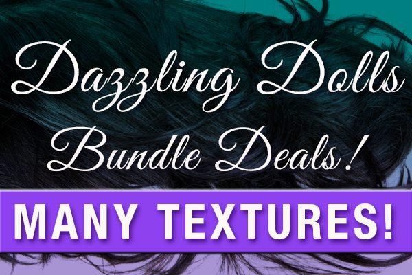 Dazzling Dolls Hair Collection Bundle Deals