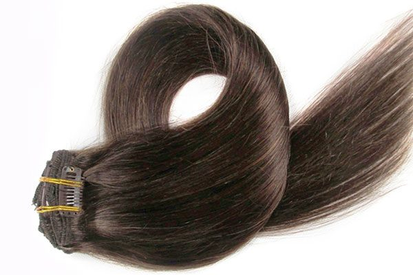 Dazzling Dolls Hair Collection Clip in Hair Extensions Brown