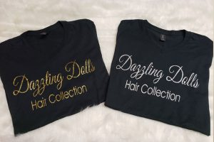 Dazzling Dolls Hair Collection t-shirt-1